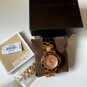 Michael Kors Dylan Chronograph Rose Gold Watch